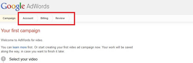 Now, you've just created your very first YouTube ad.